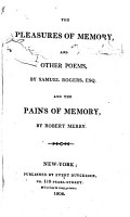 The Pleasures of Memory  and Other Poems PDF