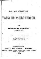 Deutsch-türkisches Taschen-Wœrterbuch