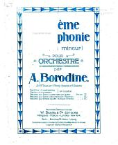 Deuxième symphonie si mineur : pour orchestre