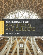 Materials for Architects and Builders PDF