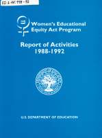 Women s Educational Equity Act Program PDF