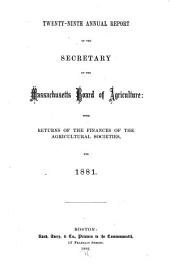 Annual Report of the Secretary ...: Volume 29