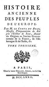 Histoire ancienne des peuples de l'Europe: Volume3