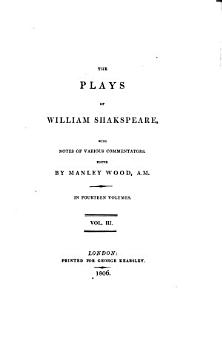 The Plays of William Shakespeare  Midsummer night s dream  Love s labour s lost  Merchant of Venice PDF