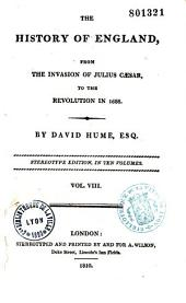 The History of England from the Invasion of Julius Cesar to the Revolution in 1668