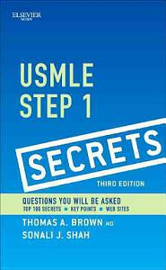 USMLE Step 1 Secrets3 Book