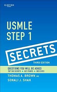 USMLE Step 1 Secrets3 Book