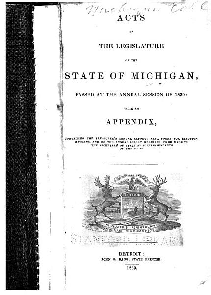 Download Acts of the Legislature of the State of Michigan Book