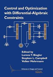 Control and Optimization with Differential-Algebraic Constraints