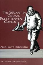 The Servant in German Enlightenment Comedy