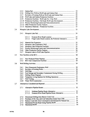Kenai National Wildlife Refuge, Wolf Lake Area Natural Gas Project