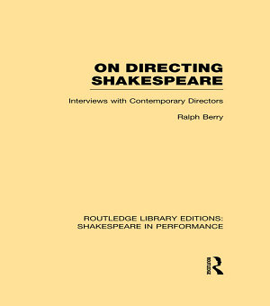 On Directing Shakespeare PDF