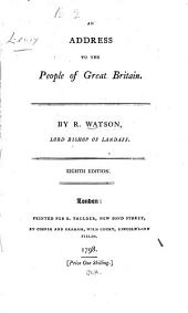 An address to the people of Great Britain