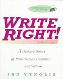 Write Right  PDF