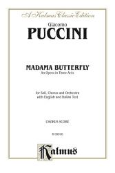 Madame Butterfly An Opera In Three Acts Book PDF