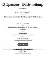 Allgemeine Gartenzeitung: Band 17