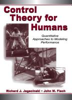 Control Theory for Humans PDF