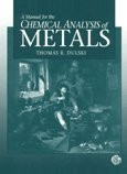 A Manual for the Chemical Analysis of Metals PDF