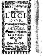 Der Rachgierige und unversöhnliche Lucidor