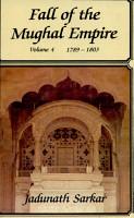Fall of the Mughal Empire  1789 1803 PDF