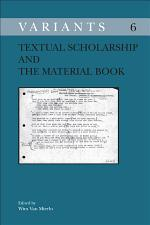 Textual Scholarship and the Material Book