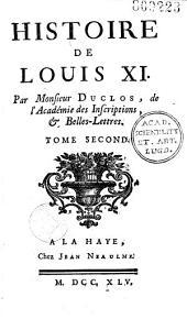 Histoire de Louis XI
