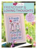I Love Cross Stitch Friendship   Loving Thoughts