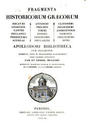 Historicum Graecorum fragmenta: Volume 1