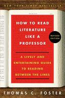 How to Read Literature Like a Professor PDF