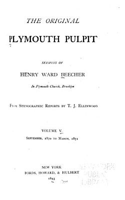 The Original Plymouth Pulpit PDF