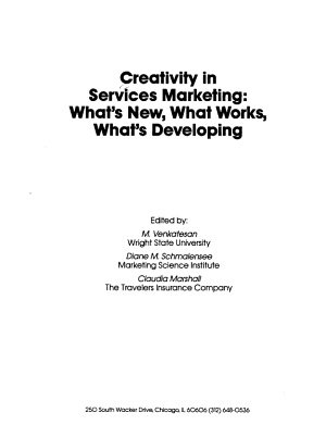 Creativity in Services Marketing PDF
