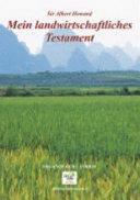 Mein landwirtschaftliches Testament PDF