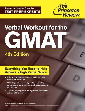 Verbal Workout for the GMAT  4th Edition