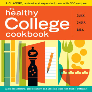 The Healthy College Cookbook Book