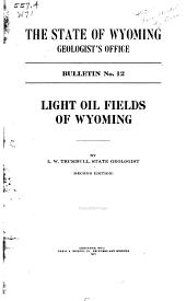 Light Oil Fields of Wyoming