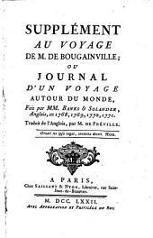 Supplément Au Voyage De M. De Bougainville; Ou Journal D'Un Voyage Autour Du Monde, Fait par MM. Banks & Solander, Anglois, en 1768, 1769, 1770, 1771 ; Traduit de l'Anglois, par M. De Fréville: 3