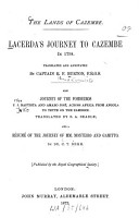 The Lands of Cazembe PDF