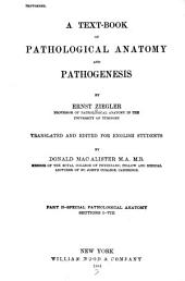 A Text-book of Pathological Anatomy and Pathogenesis: pt. 2. Special pathological anatomy, Sections IX-XII