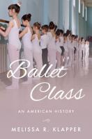 Ballet Class PDF