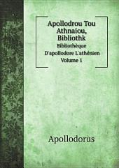 Apollodrou Tou Athnaiou, Bibliothk