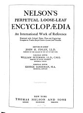 Nelson's Encyclopaedia: Everybody's Book of Reference ...