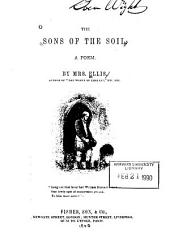 The sons of the soil, a poem