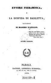 Ettore Fieramosea, la disfida di barletta, racconto di Massimo d'Azeglio. 7. ed