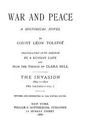War and Peace: A Historical Novel, Volume 1