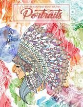 Livre de coloriage pour adultes Portraits 1