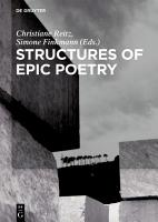 Structures of Epic Poetry PDF