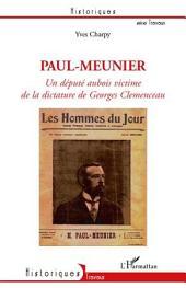 Paul-Meunier, un député aubois victime de la dictature de Ge