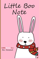 Little Bunny Boo Notebook   Little Rabbit Foo with Blank Paper for Drawing Or Doodling  6 X 9  PDF