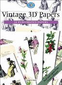 Vintage 3D Decoupage Papers