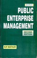 Public Enterprise Management  2 Edition  PDF